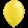 "11"" Custom Printed Luxury Pearl Citrine Yellow Latex Balloons overview"