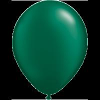 "11"" Custom Printed Luxury Pearl Forest Green Latex Ballloons"