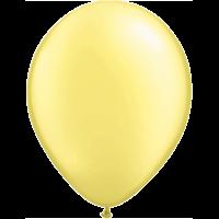 "11"" Custom Printed Luxury Pearl Lemon Chiffon Latex Balloons"