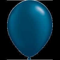 "11"" Custom Printed Luxury Pearl Midnight Blue Latex Balloons"