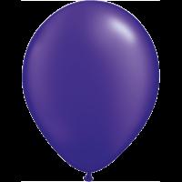 "11"" Custom Printed Luxury Pearl Quartz Purple Latex Balloons"