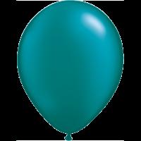 "11"" Custom Printed Luxury Pearl Teal Latex Balloons"
