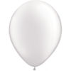 """11"""" Custom Printed Luxury Pearl White Latex Balloons overview"""
