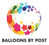 balloons by post big logo