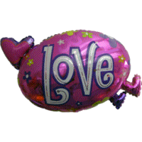 Love in Pink Clouds Balloon in a Box