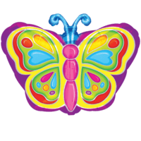 Flutterby Butterfly Balloon in a Box