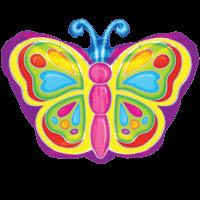 Flutterby Butterfly Balloon in a Box