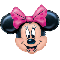 Minnie Mouse Head Balloon in a Box