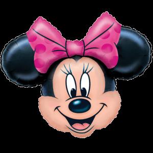 Minnie Mouse Head Balloon in a Box