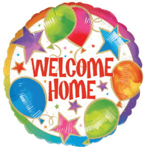 Welcome Home Party Balloon in a Box