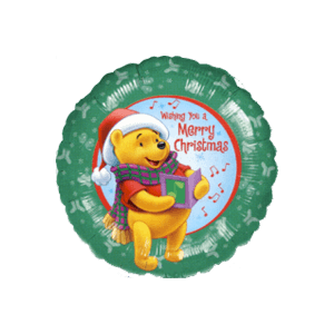 Wishing You A Merry Pooh Xmas Balloon in a Box
