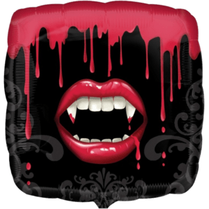 Fangtastic Vampire Square Balloon in a Box