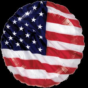 USA Flag Balloon in a Box