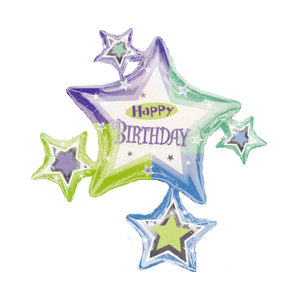 Birthday Shimmer Cluster