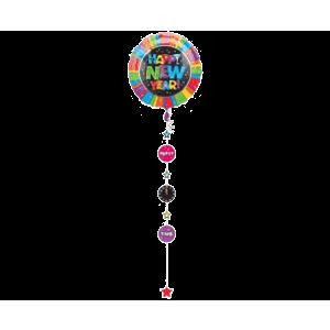 Rainbow Happy New Year Balloon in a Box