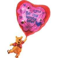 Pooh Bear Be My Honey Bee Balloon in a Box