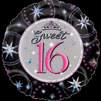 Sweet 16 Shimmer Balloon in a Box
