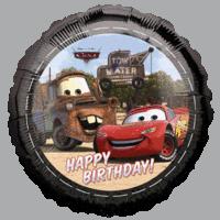 Happy Birthday Cars Balloon in a Box