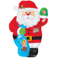 Jolly Father Christmas Balloon in a Box