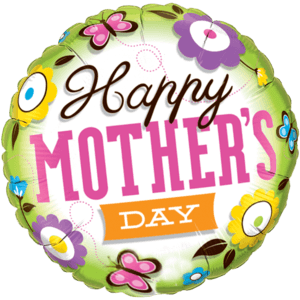 Floral Happy Mother's Day Balloon in a Box