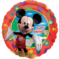 Micky Mouse Happy Birthday Balloon in a Box