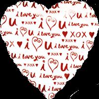 I Love U Pattern