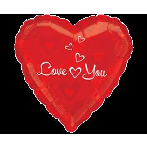 Love You Heart Float