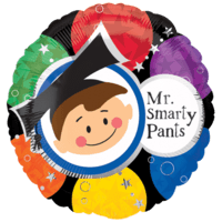 Mr Smarty Pants Balloon in a Box