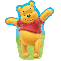 Huggable Pooh  Balloon in a Box