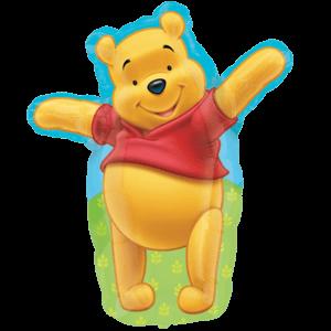 Huggable Pooh  Balloon in a Box