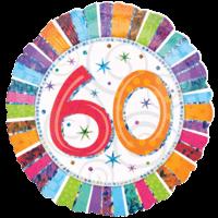 60 Glitter Birthday Balloon in a Box