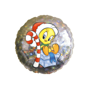 Tweety Candy Christmas Gift Balloon in a Box