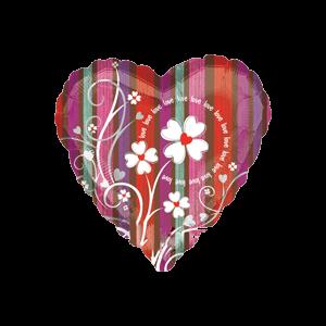 Floral Love Flourish Balloon in a Box