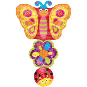 Butterfly & Flower Stack