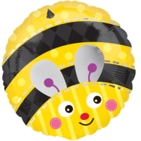 Bright Bumblebee Balloon in a Box