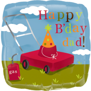 Happy Birthday Dad Balloon in a Box
