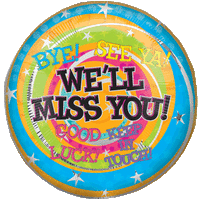 We'll Miss You Messages Balloon in a Box