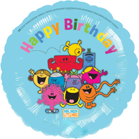 Mr Men Birthday Greetings Balloon in a Box