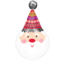 Ho Ho Santa Claus Balloon in a Box