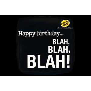 Sassy Happy Birthday! Blah Blah Blah! Balloon in a Box