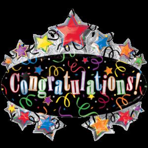 Congratulations! Mega Cluster