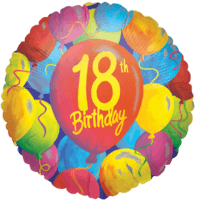 18th Balloon Birthday Balloon in a Box