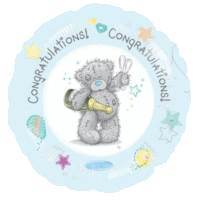 Tatty Teddy Congratulations Balloon in a Box
