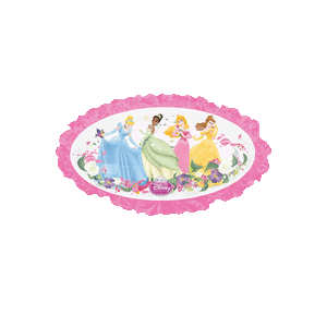 Disney Princesses Pink Border Balloon in a Box