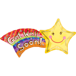 Rainbow Star Get Well