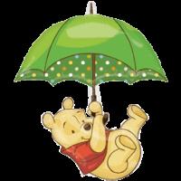 Disney Winnie the Pooh Umberella Balloon in a Box