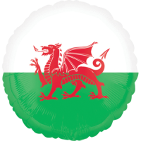 Wales Flag Balloon in a Box