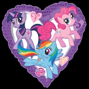 My Little Pony Jumbo Heart