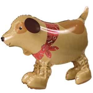Dog Airwalker Balloon Buddy Balloon in a Box