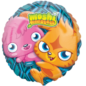 Vibrant Monsters Balloon in a Box